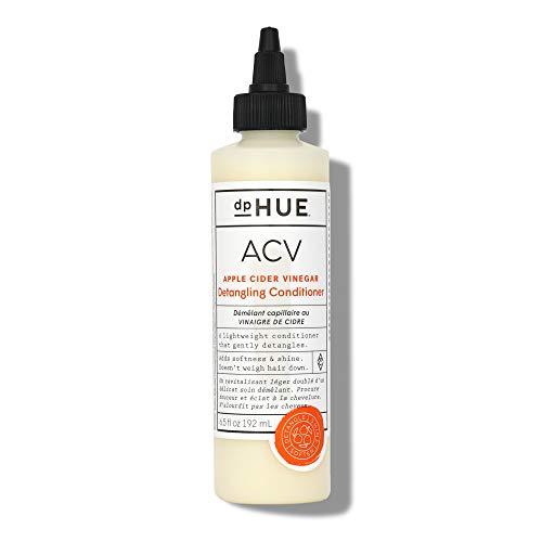 dpHUE Apple Cider Vinegar Detangling Conditioner, 6.5 oz - Hair Detangler & Lightweight Hair Conditioner for Color-Treated Hair - Apple Cider Vinegar, Lavender Extract, Aloe Vera & Argan Oil