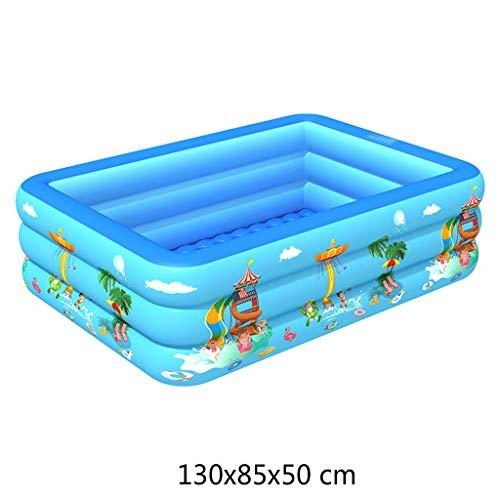 nvbmcxern Piscine Gonflable De Bébé, Cuve Portative De Jeu De L'eau Des Enfants 3Layer