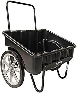 Agri-Fab Inc Carry-All Cart, 200-lb Capacity Bed, Black