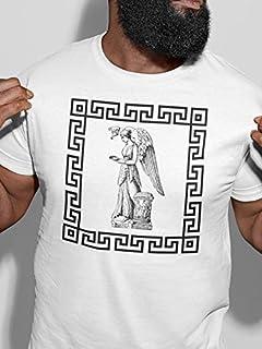 Angel Pattern ATIQ T-Shirt for Men, M