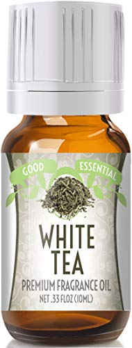 White Tea Scented Oil by Good Essential (Premium Grade Fragrance Oil) - Perfect for Aromatherapy, Soaps, Candles, Slime, Lotions, and More!