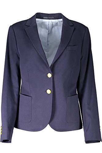 GANT Damen Sakko, Classic Club Blazer, Gr. 40 EU (Herstellergröße: Size 14), Blau (Blue)