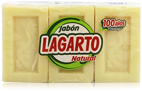 Lagarto - Jabón Natural 750g - Pack de 2 (Total 1500 ml)