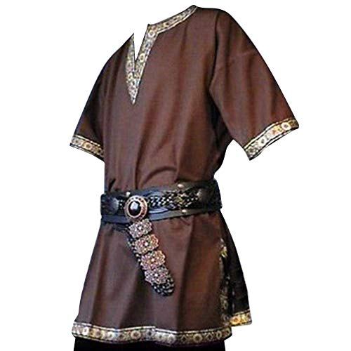 Crusader Knight Homme Costume Rouge