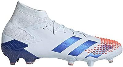 adidas Predator MUTATOR 20.1 FG Firm Ground Soccer Shoes (Men's), 10.5 M, Sky Tint/Royal Blue/Signal Coral