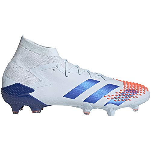 adidas Predator MUTATOR 20.1 FG Firm Ground Soccer Shoes (Men's), 10.5 M, Sky Tint/Royal Blue/Signal Coral