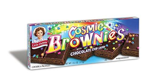 Little Debbie Cosmic Brownies, 13.1 Ounces (6 Boxes)