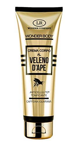 Wonder Body, crema corpo anticellulite al veleno d ape, caffeina e guaranà, tonificante (1x125ml) - LR Wonder Company