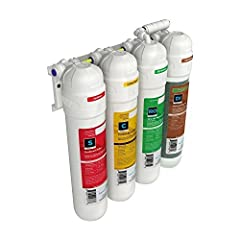 Twist-in cartridges for fast & easy replacement of Filter media. Triple-sealed cartridges ensure trouble-free operation. Sediment Filter, Carbon Filter, Membrane, Deionization Filter NEW YORK CITY ONLY - Due to high city water sediment, additional pr...