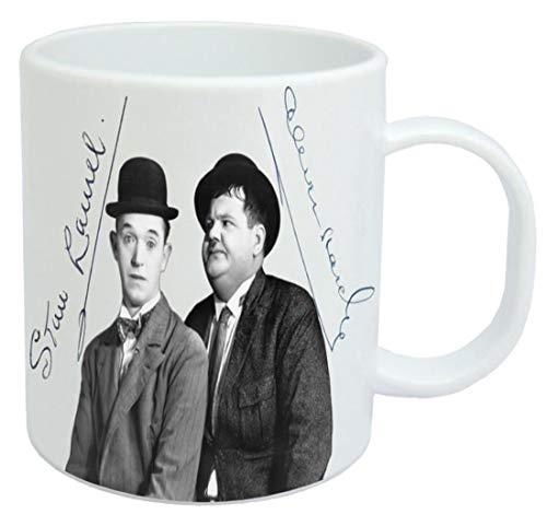 Laurel and Hardy Tasse en céramique 325 ml