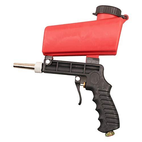 RION Kit de Pistola arenadora Elimina Pintura, Manchas, óxi