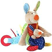 sigikid, Mädchen und Jungen, Aktiv-Känguru, PlayQ, Mehrfarbig, 40101