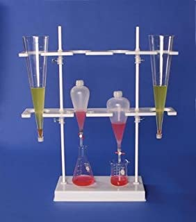 Bel-Art Products H18967-0000 Scienceware Separatory Funnel Rack, HDPE