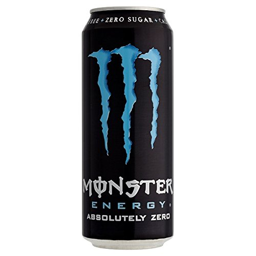 Monster Energy absolutamente cero 500ml PMP 1,19 (Pack de 12 x 500 ml)