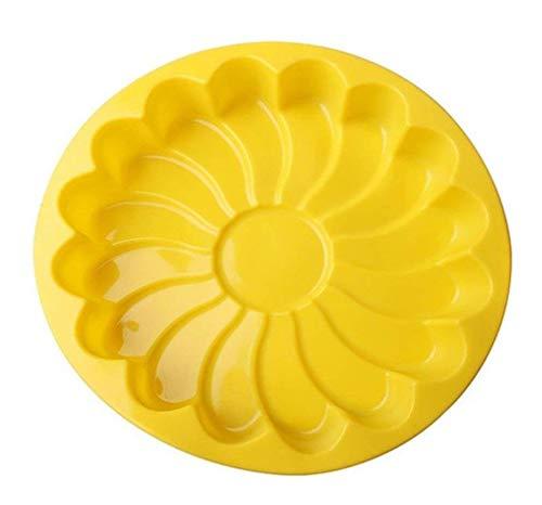 ODN 3D Moules silicone gâteaux moule en silicone a forme de rond, Excellent pour faire des gâteaux bundt au chocolat
