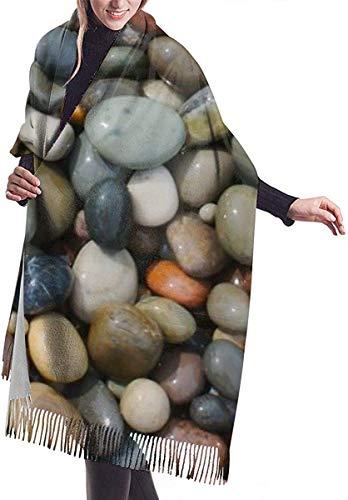 Sciarpa coperta avvolgente scialle, Scarf Pebble Stone Cozy Soft Fashion Winter Warm Large Scarf Long Shawl