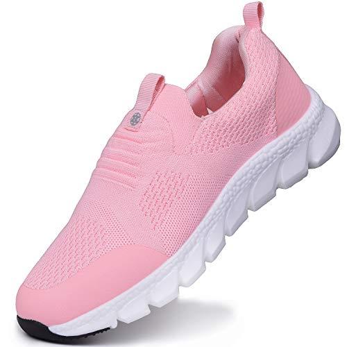 Zapatos Deporte Mujer Hombre Zapatillas y Calzado Deportivo Correr Gimnasio Casual Ligero Sneaker Cómodos Fitness Zapatos de Trabajo