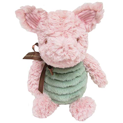 Disney Baby Classic Winnie the Pooh and Friends Stuffed Animal, Piglet 9 Inches