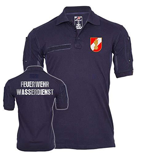 Copytec Tactical Polo Feuerwehr Wasserdienst Österreich Dienst Dienstzeit Einsatz #25594, Größe:3XL, Farbe:Dunkelblau