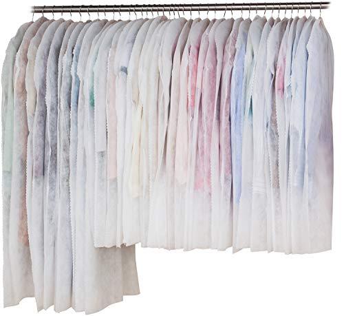 アストロ 洋服カバー 40枚 (スーツ30枚+ロング10枚) 両面不織布 フリル調 605-11