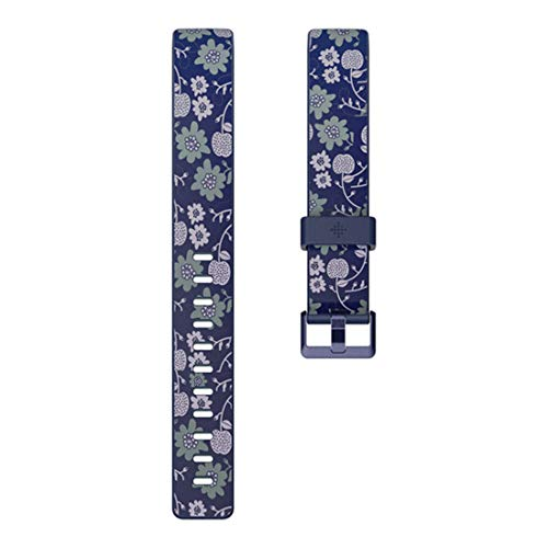 Fitbit Inspire HR & Inspire Accessory Band, Official Fitbit Product, Bloom, Large, 1 Count