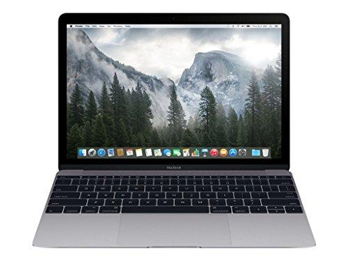 Apple MacBook MJY32LL/A 12-Inch Laptop with Retina Display, Space Gray, 256 GB (Renewed)