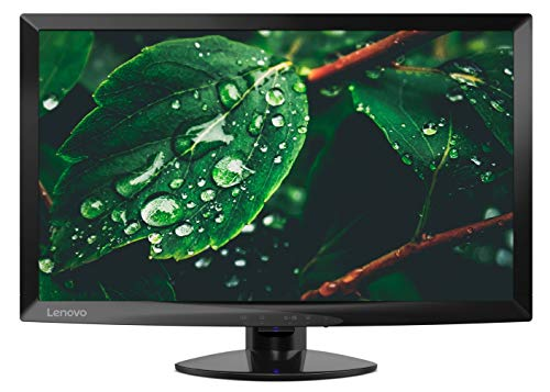 Lenovo D24 Monitor, Display 23,6' Full HD TN, 1ms, 60Hz, HDMI+VGA, Nero