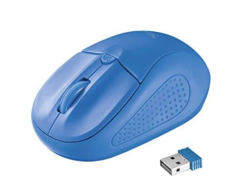 Trust Mouse Ottico Wireless, Blu