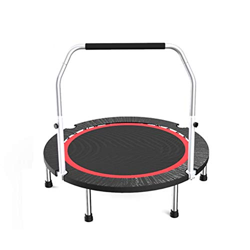 TRAMPOLINE AGYH 48in Fitness, Adjustable And Removable Armrests, Adult Aerobic Training Equipment, Children's Toys, 2 Models (Size : S-load 200kg)