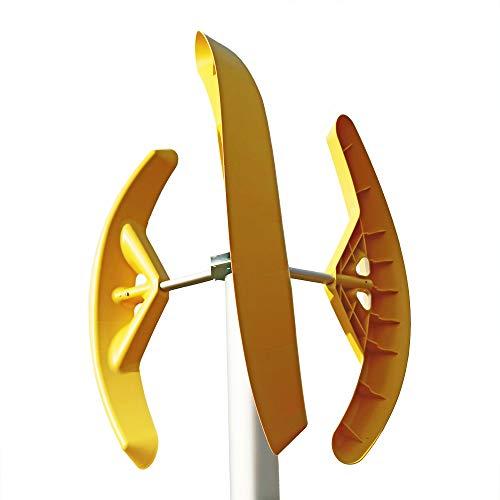 MAKEMU Energy Generatore eolico domestico ad asse verticale SMART WIND 300/400 / 500 W mini micro pala eolica terrazza tetto giardino