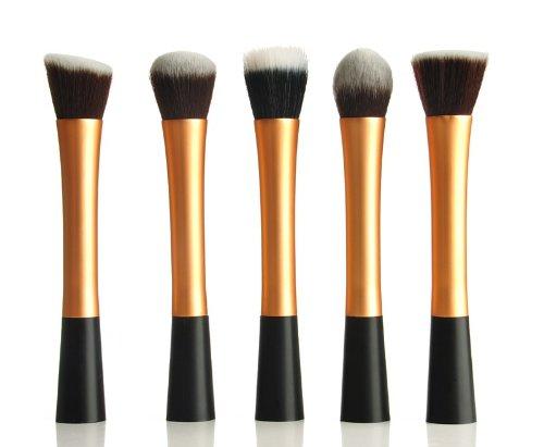 XCSOURCE Kit de Pinceau maquillage Professionnel 5PCS
