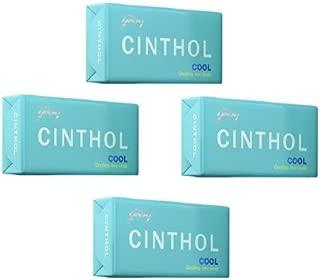 Cinthol Cool Soap, 125g (Pack of 4)
