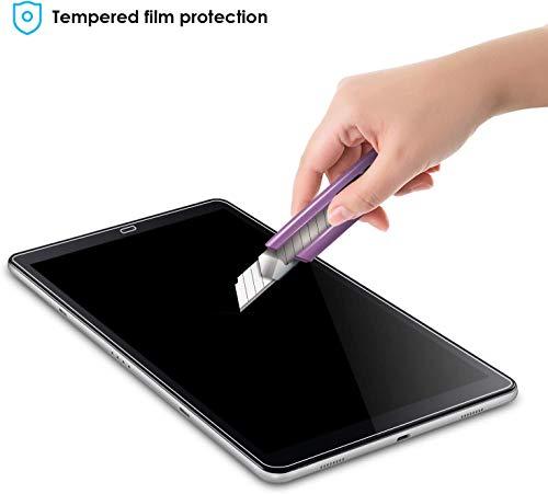 KATUMO [2 Stück Schutzfolie für Samsung Galaxy Tab A 10,5 Zoll 2018 Panzerglas Tempered Glass Hartglas Displayschutz Folie für Samsung Tablet A SM-T590/SM-T595 10.5 2018