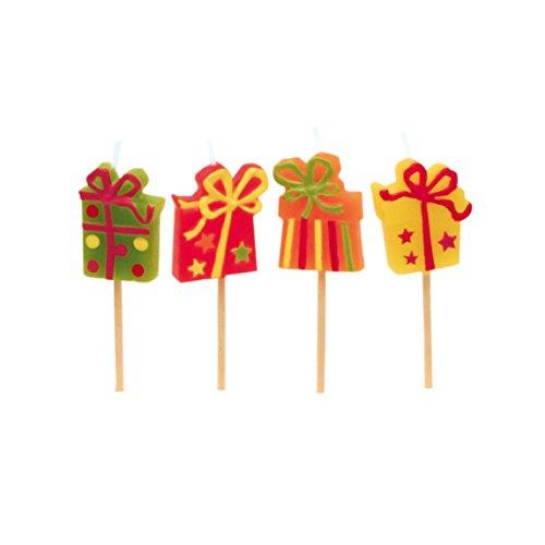 amscan - 551707 - 8 Bougies avec Mini Figurine Happy Birthday