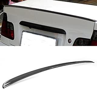 Hot Carbon Fiber Rear Trunk Lip Spoiler Wing For BMW E46 325i 328i 330i 1999-2005