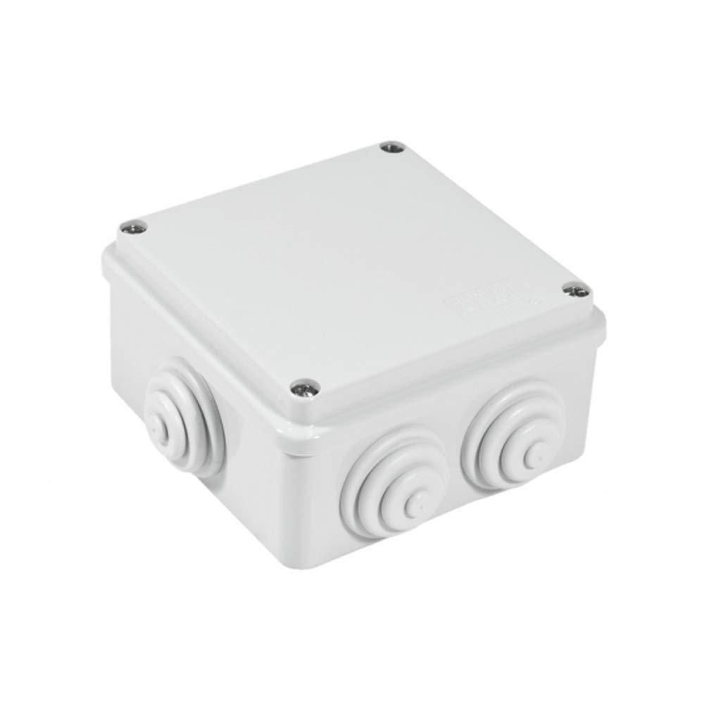 Gewiss GW27042 IP55 caja eléctrica - Caja para cuadro eléctrico (65 mm, 65 mm, 82 mm): Amazon.es: Bricolaje y herramientas