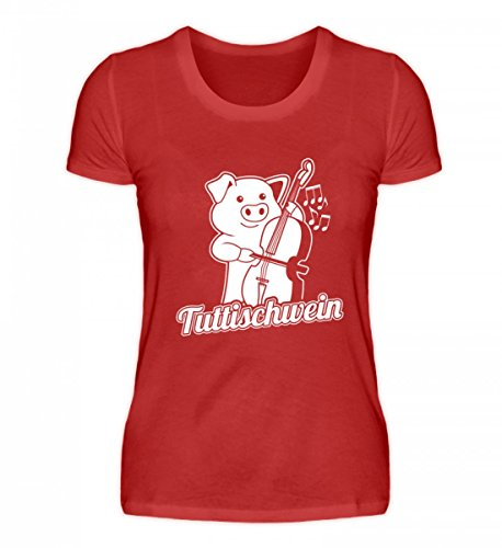 Chorchester Hoogwaardig damesshirt - contrabass Tuttizwijn opgepast