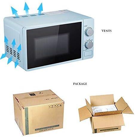 L.BAN 20L Petit Four à Micro-Ondes Multifonctionnel 220V mécanique rotative Chauffe-Aliments cuiseur de Cuisine pour la Cuisson à la Vapeur/Chauffage/ébullition, Rose Pink