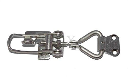 Hefboomsluiting van roestvrij staal, verstelbaar met hangslot