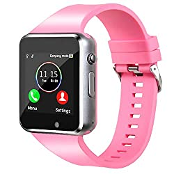 in budget affordable Smartwatch, unlocked smartwatch, Bluetooth / Android / iOS compatible (partial function)…