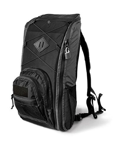 Copper Basin Takedown Firearm Backpack Discrete Takedown & Compact Firearm Storage Pack, Black/Gray, Black