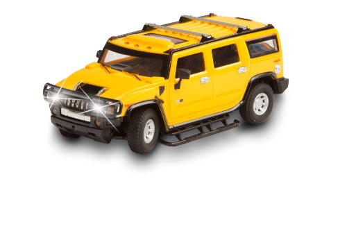 Invento just play 50008105 RC : License Edition : Hummer H2, Voiture radiocommandée, Jaune