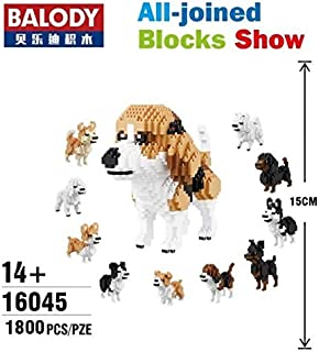 Balody 10 in 1 Deformation Dog Educational DIY Building Blocks Animal Model Brinquedos Bricks Kids Best