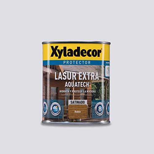 Xyladecor Lasur Extra Satinado Aquatech para madera Roble 750 ml