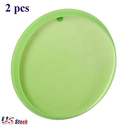2pcs 3D Silicone 8 inch Plate Clamp 3D Sublimation Rubber Plate Clamp Mug for All 8 inch Plates - US Stock