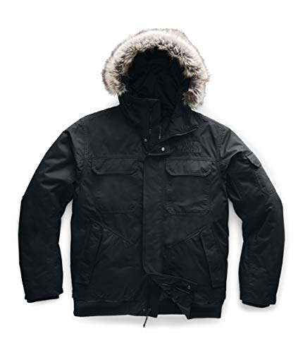 The North Face Men's Gotham Jacket III, TNF Black/TNF Black, Large