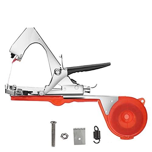 Máquina de Atar Plantas, máquina de Atar Ramas, Herramienta de Agricultura Manual para Atar Plantas, Pinzas de unión para Vendas, para Viñedo Pepino Fruta Flores Vegetales
