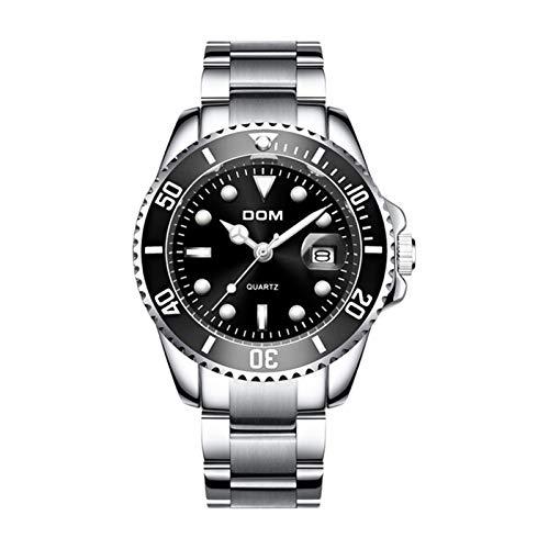 GKXAZ Luxuxmänner Uhr 30 m wasserdicht Datum Uhr Männer Sport-Uhr-Mann-Quarz-Armbanduhr (Color : M 1263D 1M, Size : China)