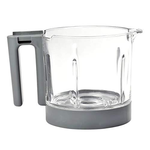 Béaba 912717 - Jarra De Cristal De Repuesto Para Babycook Néo, Grey