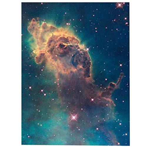 WZADXY 1 Lienzo de PinturaPintura deMaderaCruz Universo Arte Galaxypace Telescopio Hubble Pintura 3D decoración